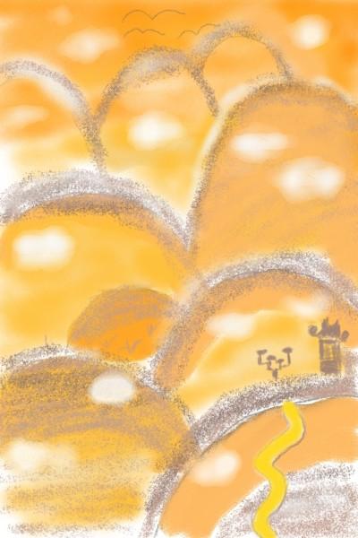 The Orange Hills | Avi | Digital Drawing | PENUP