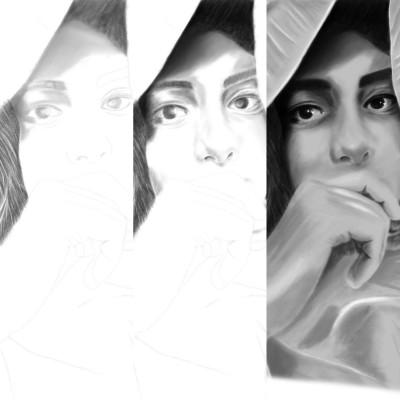 sketching steps ;)  | Erkan-Beyatli | Digital Drawing | PENUP