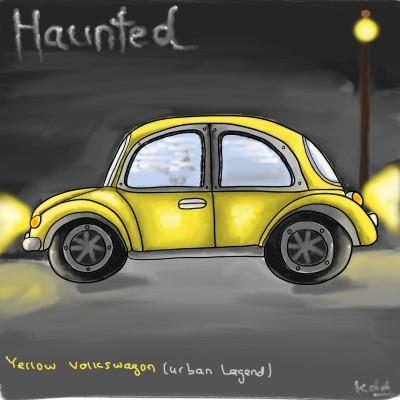 beware yellow volkswagon  | tinie | Digital Drawing | PENUP