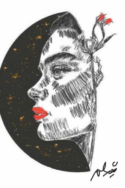 Portrait Digital Drawing | nhiem | PENUP