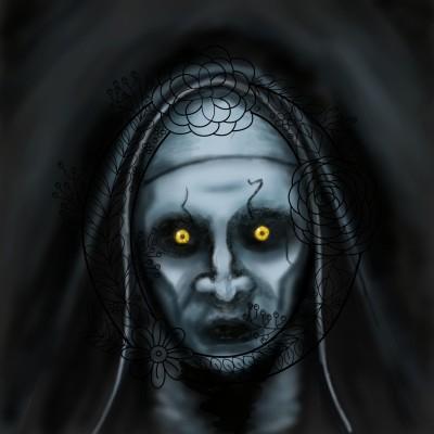 The Nun! | Prashant | Digital Drawing | PENUP