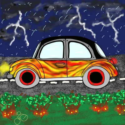 Bugging out in the weather | Jules | Digital Drawing | PENUP