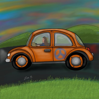 Free Spitit | LisaBme | Digital Drawing | PENUP