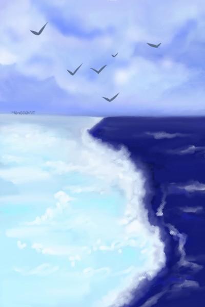 Gulf of Alaska  | MonSouhait | Digital Drawing | PENUP