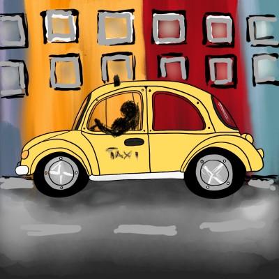 Taxi | lopz | Digital Drawing | PENUP