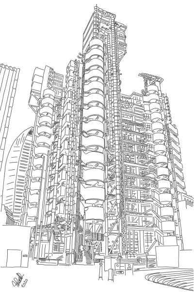 Lloyd's of London | StevenCarroll | Digital Drawing | PENUP
