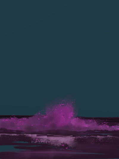Pink wave | AntoineKhanji | Digital Drawing | PENUP