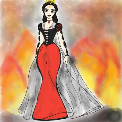 QueenOfEvil   Yelan   Digital Drawing   PENUP