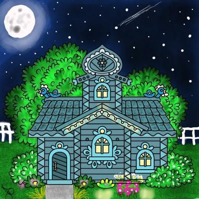 Home Sweet Home   Jules   Digital Drawing   PENUP