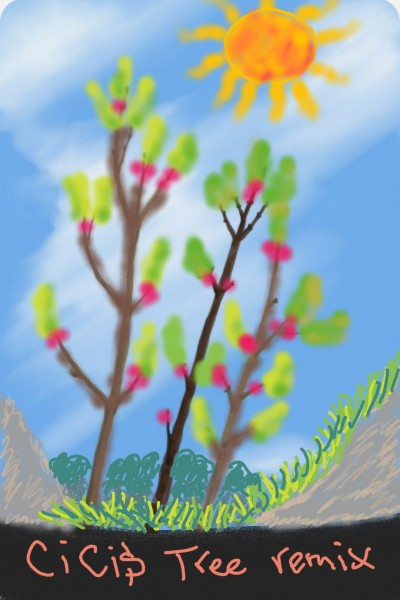 Cici's tree  | Anevans2 | Digital Drawing | PENUP