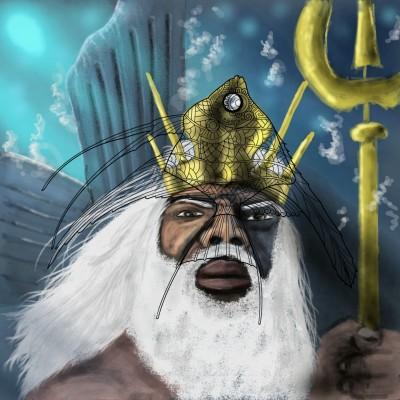 King Triton!!! | Prashant | Digital Drawing | PENUP