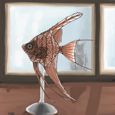 fish craft from rattan | tinie | Digital Drawing | PENUP