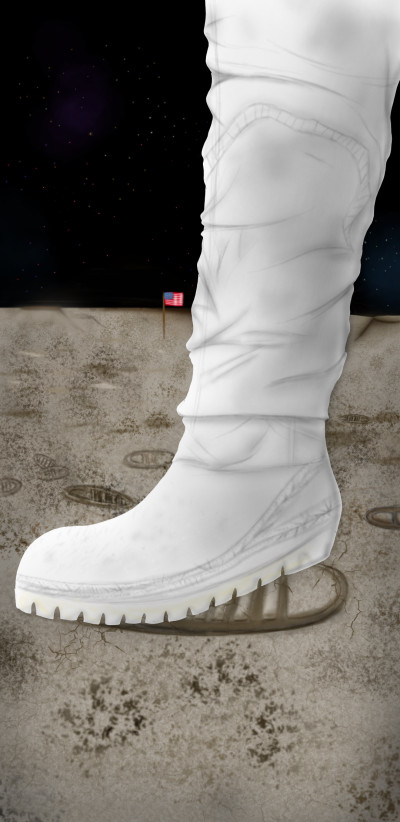 Neil's boots  | Louis | Digital Drawing | PENUP