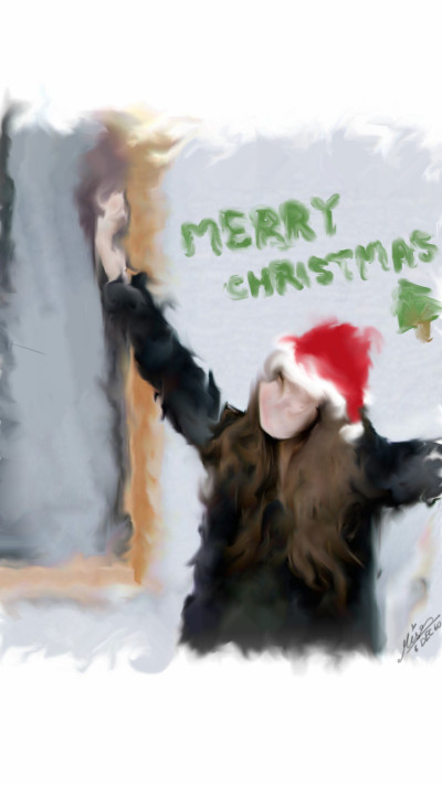 Christmas with Lisa   Mise   Digital Drawing   PENUP