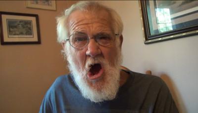 angry grandpa | herobrine | Digital Drawing | PENUP