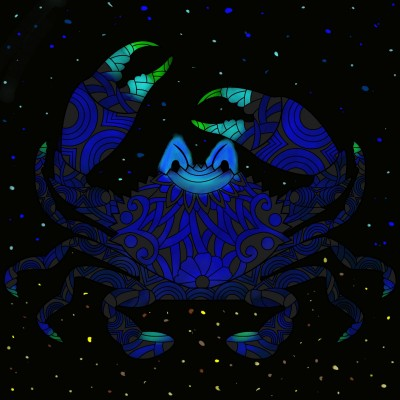 Blue Crab  | lisa | Digital Drawing | PENUP