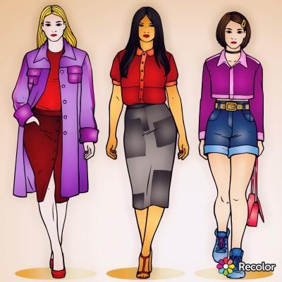 Fashion Digital Drawing   con   PENUP