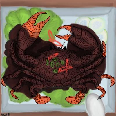 chilli crab     | tinie | Digital Drawing | PENUP