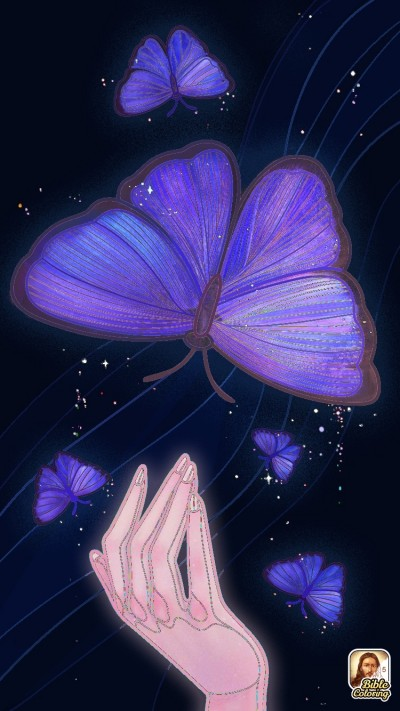 Butterfly  Hand | Gaycouple | Digital Drawing | PENUP