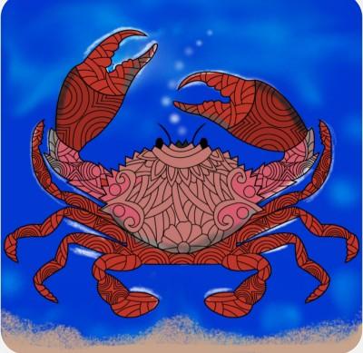 Sand crab | Chris | Digital Drawing | PENUP