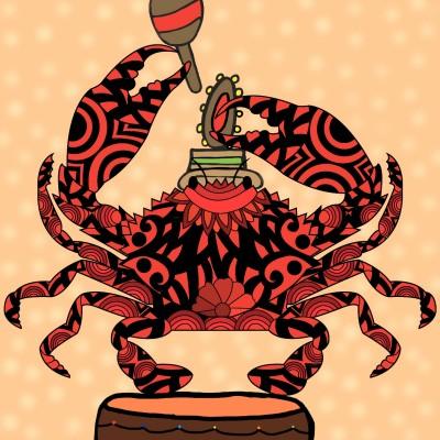 dancing crab | alexa227 | Digital Drawing | PENUP