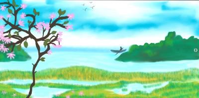 Landscape Digital Drawing | sulakshana | PENUP