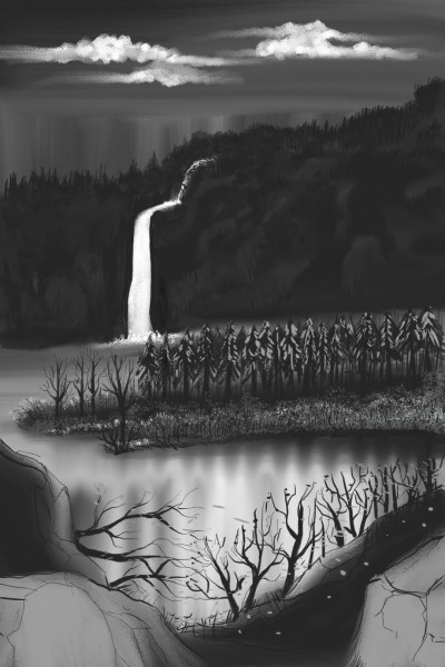 falls in silence  | Dex.R | Digital Drawing | PENUP