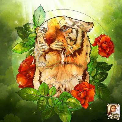 Tiger | Gaycouple | Digital Drawing | PENUP