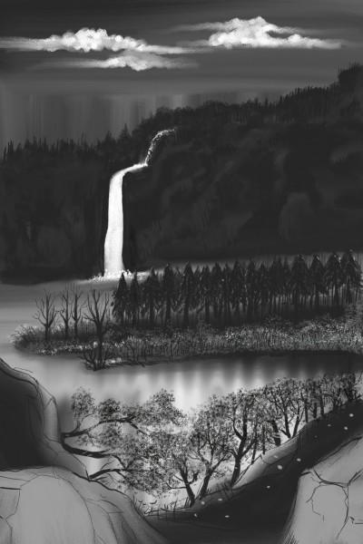 falling in  Silence  | Dexter | Digital Drawing | PENUP
