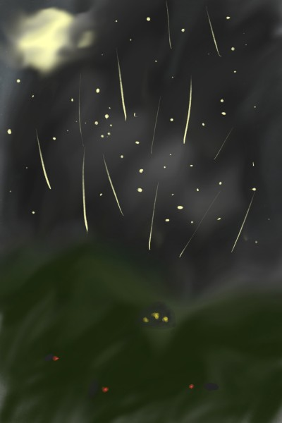 Shooting Stars  | Shawn | Digital Drawing | PENUP