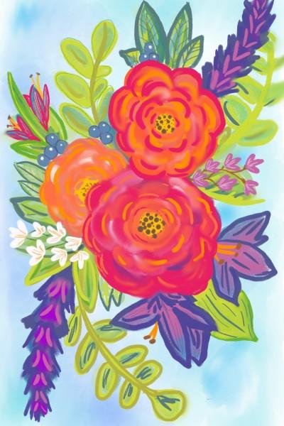 pretty flowers | avictorias13 | Digital Drawing | PENUP