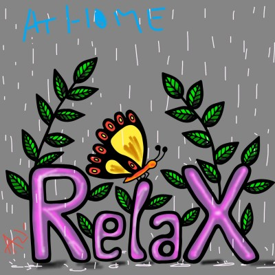 stay home n relax | AZR | Digital Drawing | PENUP