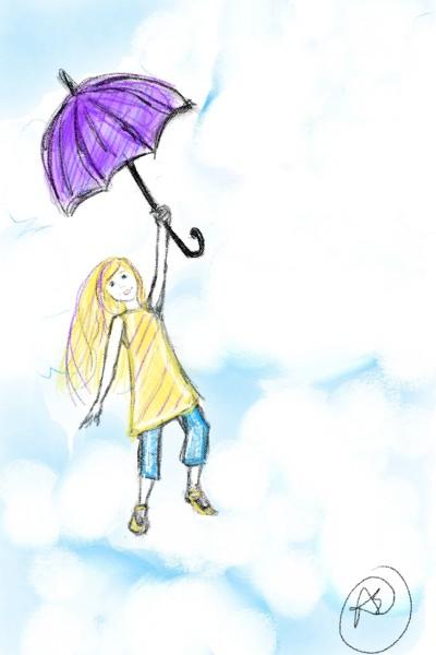 umbrella | avictorias13 | Digital Drawing | PENUP