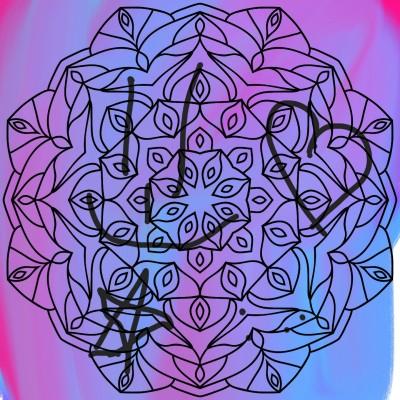 Coloring Digital Drawing | lunadetul | PENUP
