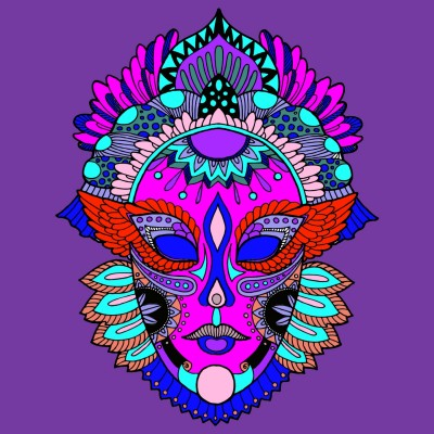 Masque  | richard | Digital Drawing | PENUP