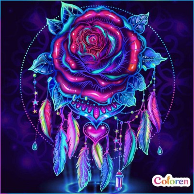 Rose  Dream  Catcher | Gaycouple | Digital Drawing | PENUP