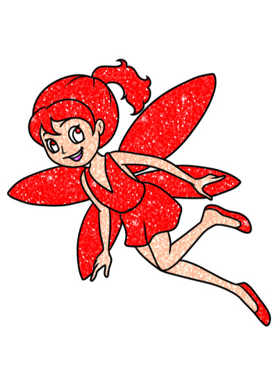 Red  Fairy | Gaycouple | Digital Drawing | PENUP