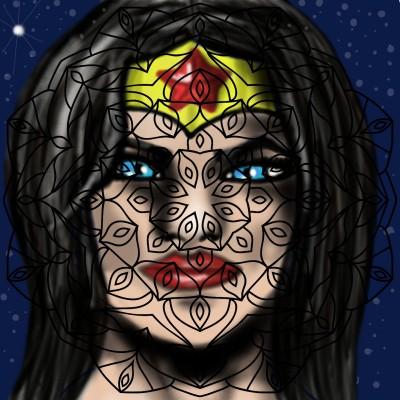 Super Hero | SummerKaz | Digital Drawing | PENUP
