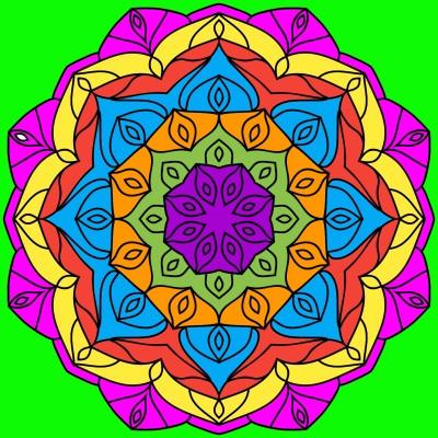 Mandala | xabi2020 | Digital Drawing | PENUP