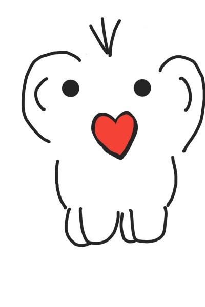 사랑해♡♡ | Yeeun | Digital Drawing | PENUP