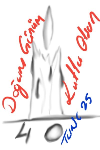 Happy my birthday (^_-) | ZeynepTunc | Digital Drawing | PENUP