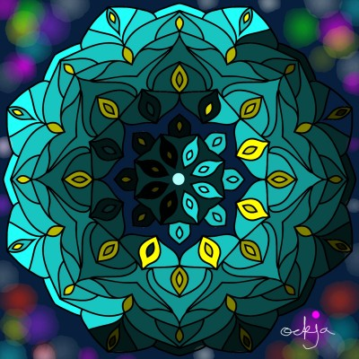 mandala's magic ☆ | ockja | Digital Drawing | PENUP