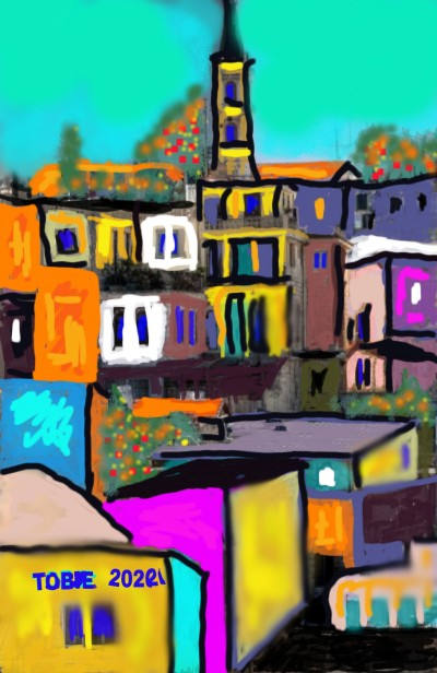 JERUSALEM  | Tobie.ISR | Digital Drawing | PENUP