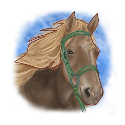 Horse | Gaycouple | Digital Drawing | PENUP