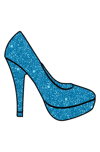 Blue  High  Heel | Gaycouple | Digital Drawing | PENUP