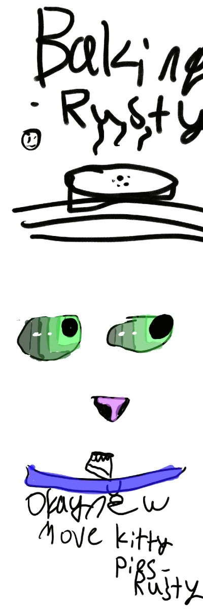 Warrior spoof | Salty_Freak | Digital Drawing | PENUP