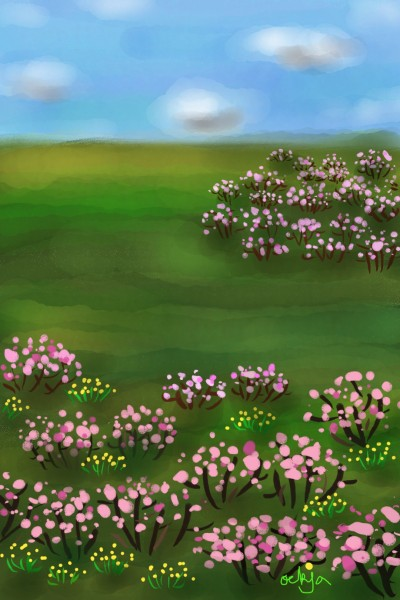 spring whispers♡ | ockja | Digital Drawing | PENUP