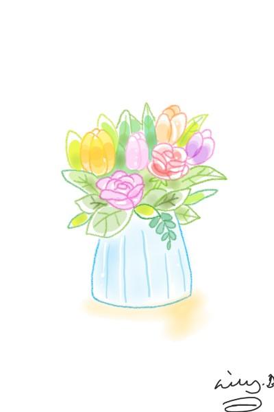 Flowers | bohemian_anqel | Digital Drawing | PENUP