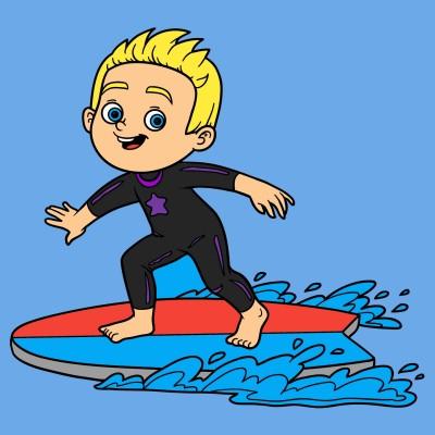 kid surf | Jprincipe77 | Digital Drawing | PENUP