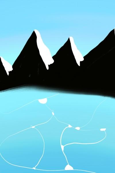 Landscape Digital Drawing | yiuyiu.love | PENUP